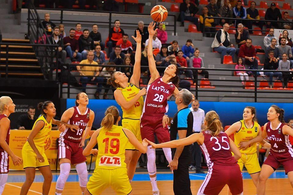 Матч в Северной Македонии. Фото: Basketbols