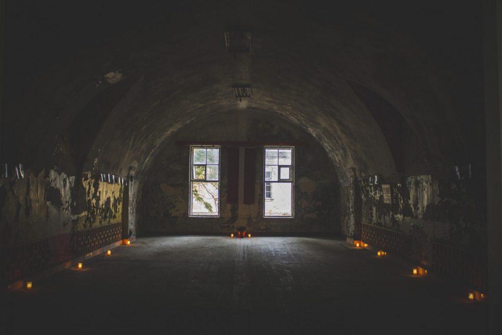 Квест в Даугавпилсской крепости. 16 ноября 2019 года. Фото: Анастасия Кочмарёва