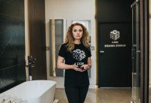 Линда Германе, владелица студии дизайна интерьера 4 Stūri Фото: Ирина Маскаленко