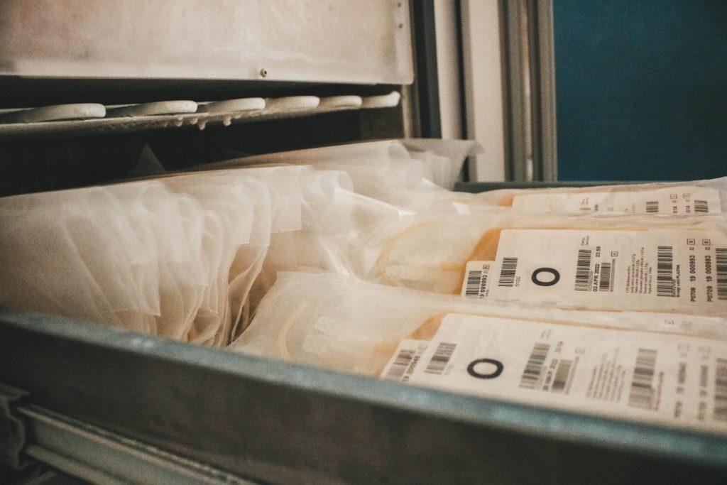 В Даугавпилсском отделении заготовки крови. Фото: Настя Гавриленко