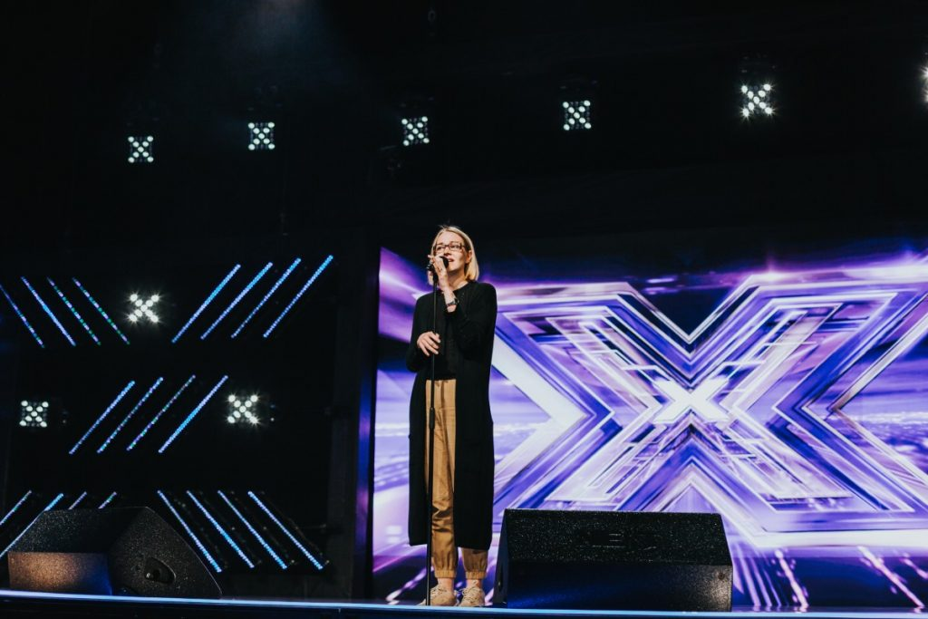 Ольга Палушина на латвийском X-факторе. 6 августа 2019 года. Фото: Ирина Маскаленко