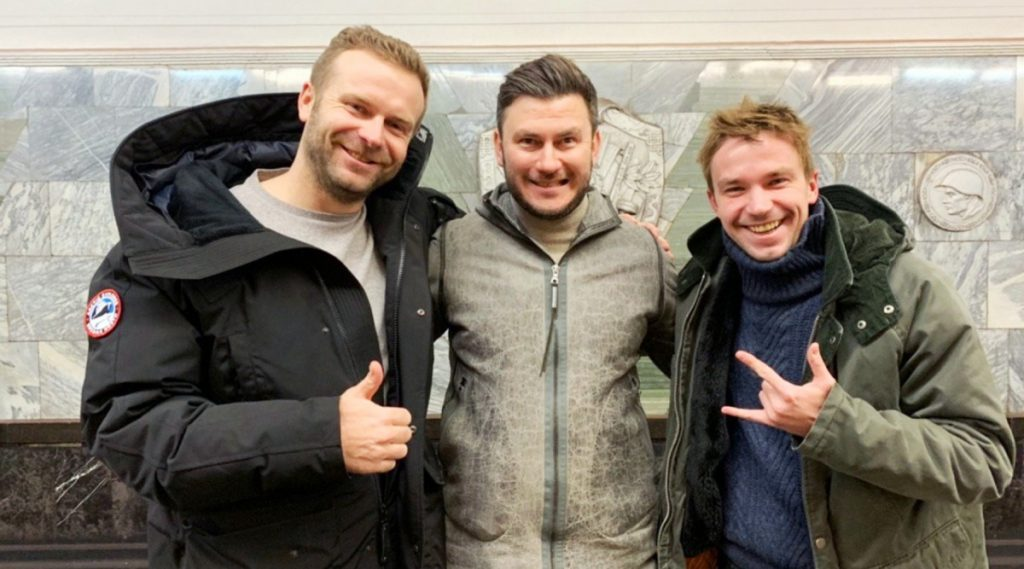 Клим Шипенко, Дмитрий Глуховский и Александр Петров. Фото: kinopoisk.ru