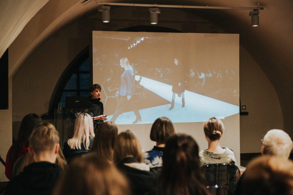 Лекция Байбы Ладиги-Кобаяши в Арт-центре Марка Ротко. Фото: Ирина Маскаленко