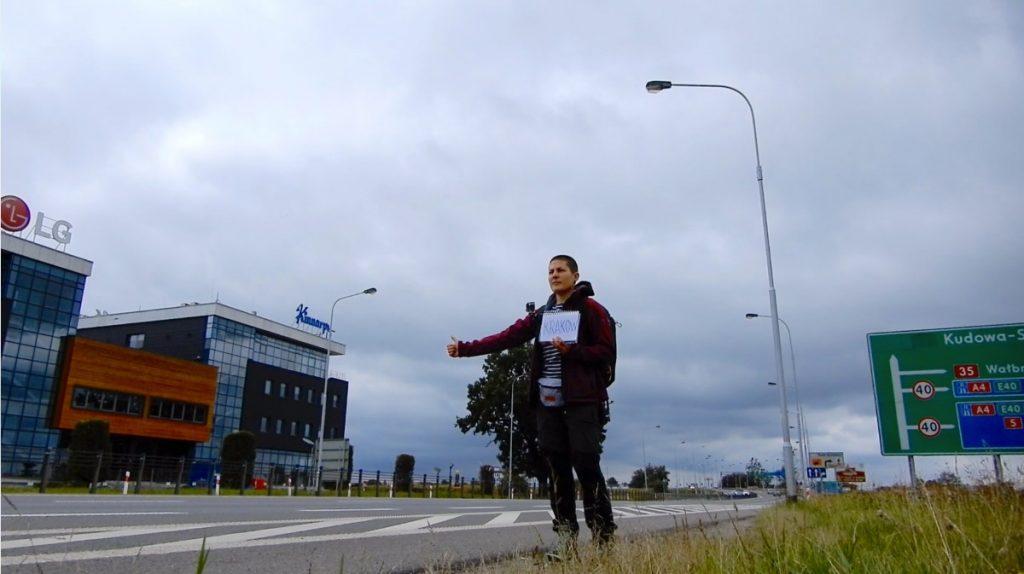Путешественница Марта Негро. Польша, автостопом до Кракова. Фото из личного архива