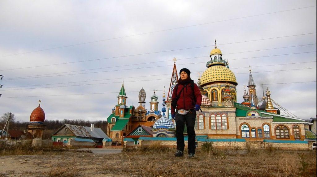 Путешественница Марта Негро. Россия, Церковь в Казани. Фото из личного архива