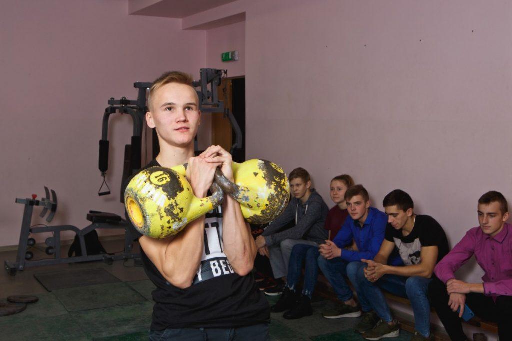 Иво Пастарс, даугавпилсский гиревик. Фото: Сергей Соколов
