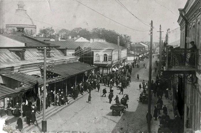 Улица Ригас, 1920-1930 годы. Фото: Ретро Даугавпилс - Латвия