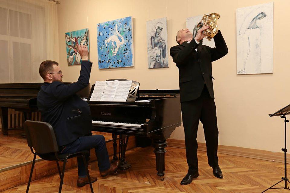 Глеб Беляев с Ришардом Жолендзевским. Фото из личного архива