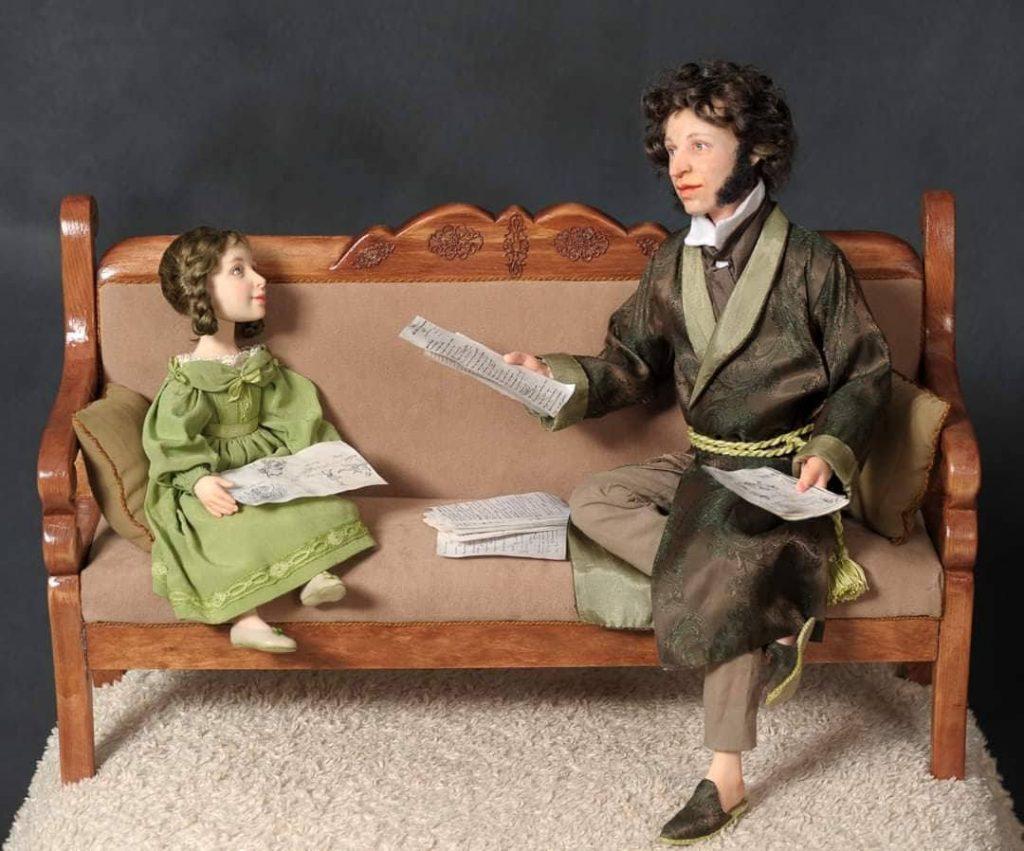 Портретные куклы Виолетты Озун. Фото из личного архива
