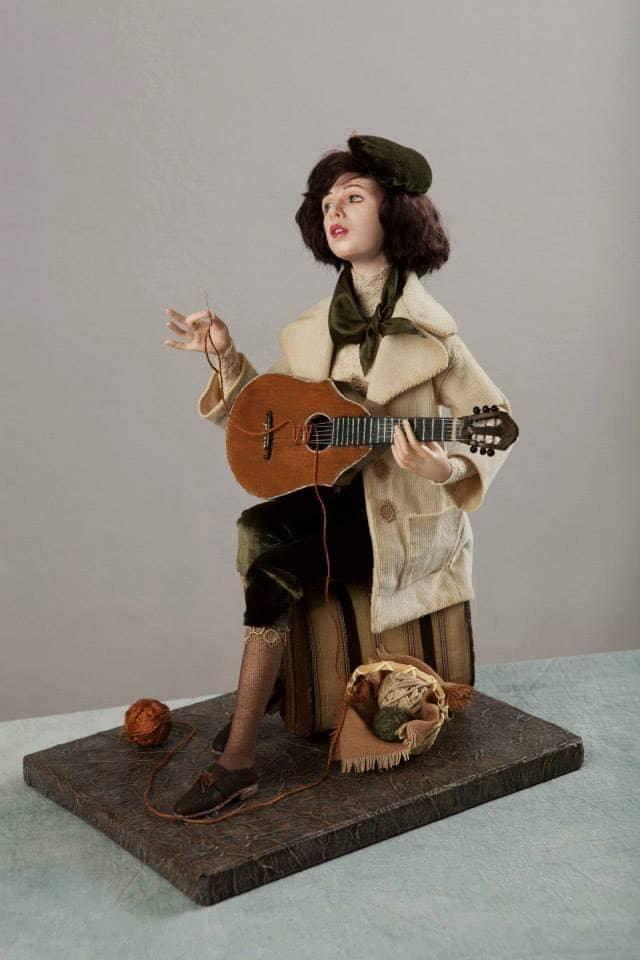 Вероника Долина кукольного мастера Виолетты Озун. Фото из личного архива