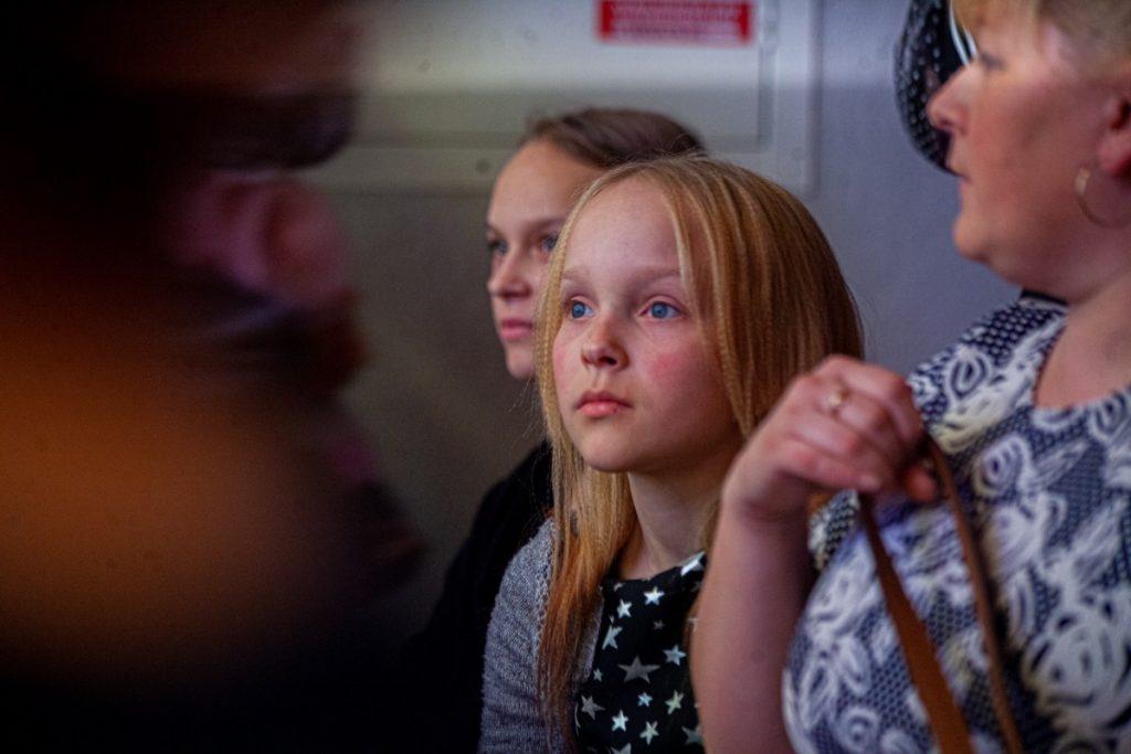 """Рождественский праздник, организованный """"Фондом Доверия"""" в Даугавпилсе. 26 декабря 2019 года. Фото: Пётр Евсеев"""