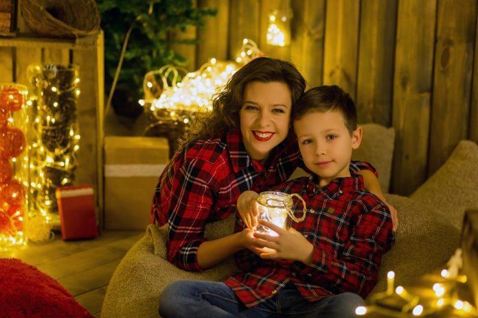 Кристина Варша с сыном. Фото из личного архива