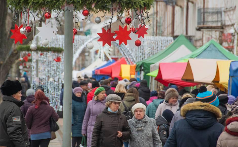 Декабрь 2019 года, Даугавпилс. Фото: Daugavpils pilseta