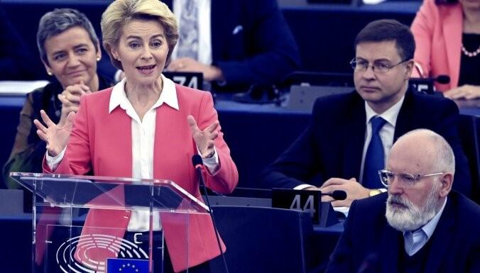 Глава ЕК Урсула фон дер Ляйен. Фото: AFP/Scanpix/LETA