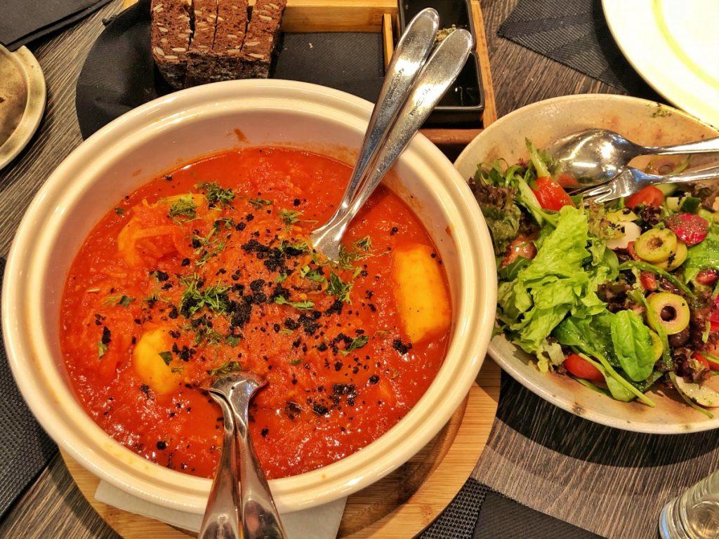 Обед в ресторане Miške (Спа Вильнюс Аникщяй)