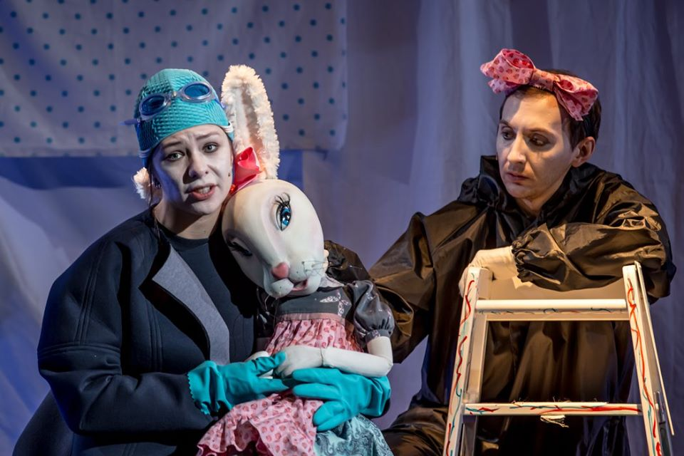 """Кристина Варша в спектакле """"Удивительное приключение кролика Эдварда"""". Фото из личного архива"""