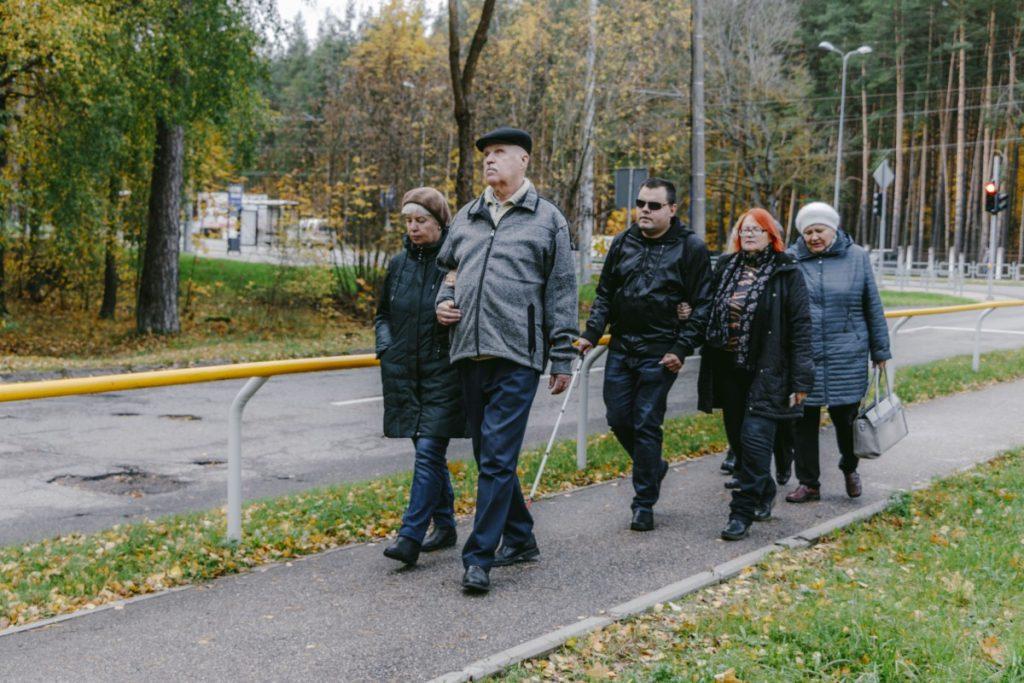 Даугавпилсское общество слепых. Фото: Евгений Ратков