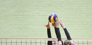 Балтийская женская лига по волейболу. ВК «miLATss» и ВК «Елгава». Даугавпилс, 30 ноября. Фото: Сергей Кузнецов