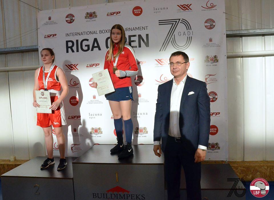 Николина Бокен. Фото: Latvian Boxing News