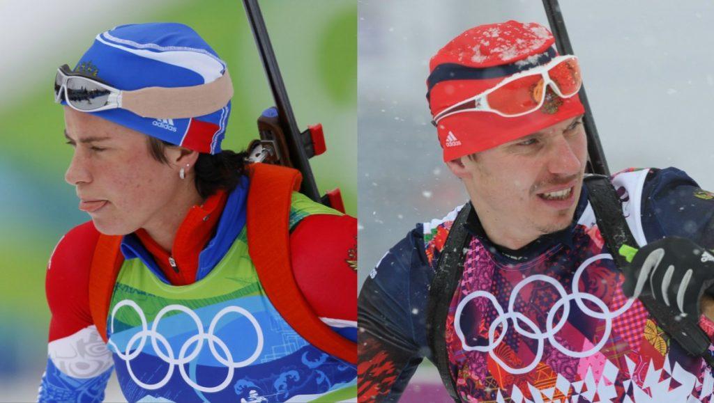 олимпийские чемпионы по биатлону Евгений Устюгов и Светлана Слепцова_sport-express.ru