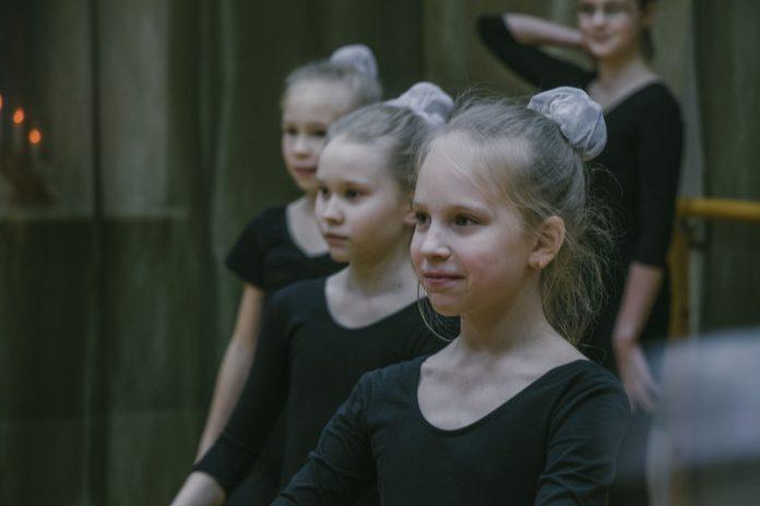 Занятие в танцевальной студии