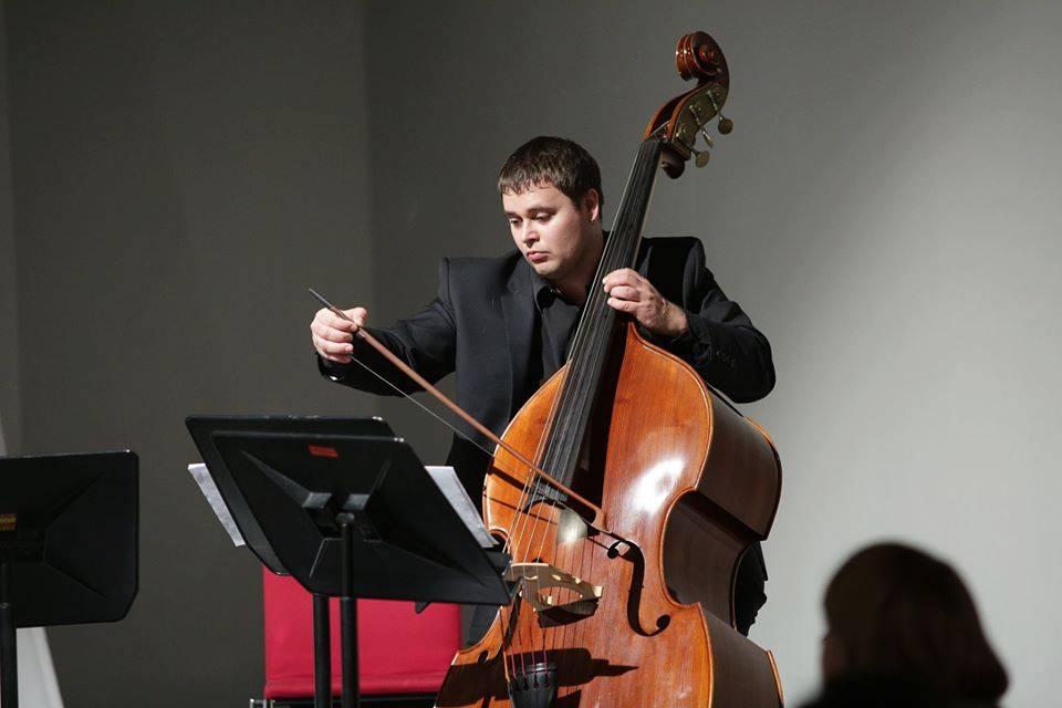 Студент Латвийской Музыкальной академии им. Язепа Витола Виктор Станкевич. Фото из личного архива