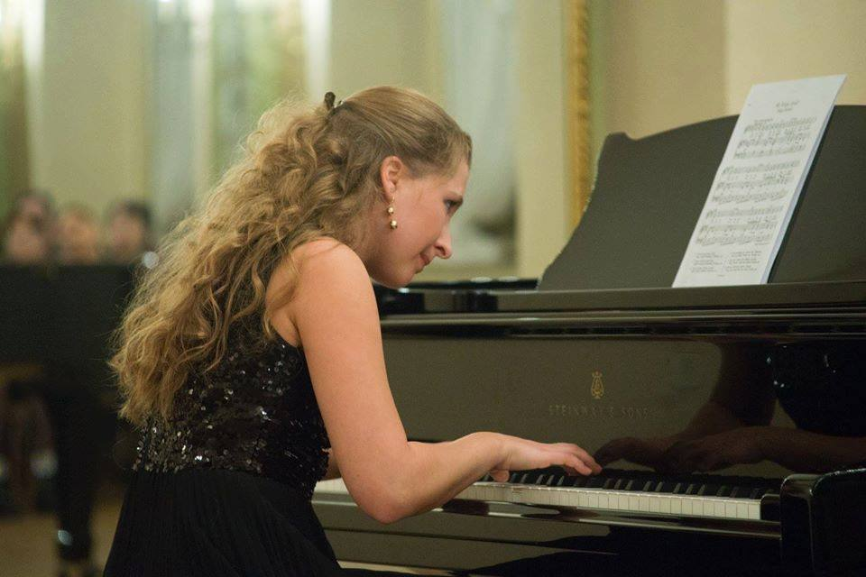 Студентка Латвийской Музыкальной академии им. Язепа Витола Екатерина Сарви. Фото из личного архива