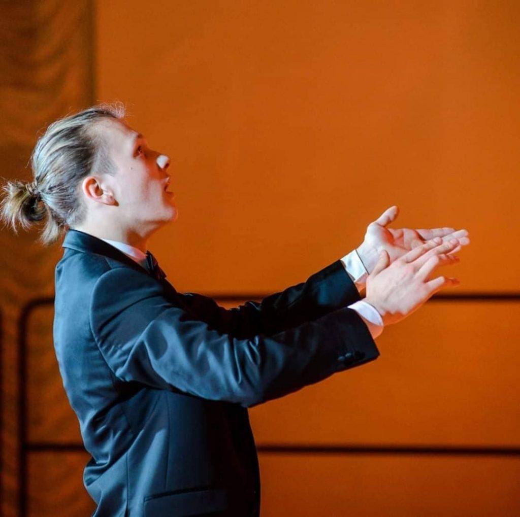 Студент Латвийской Музыкальной академии им. Язепа Витола Ренат Цвечковский. Фото из личного архива