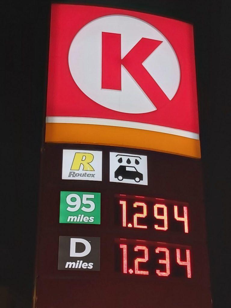 Цены на топливо 31 декабря 2019 года