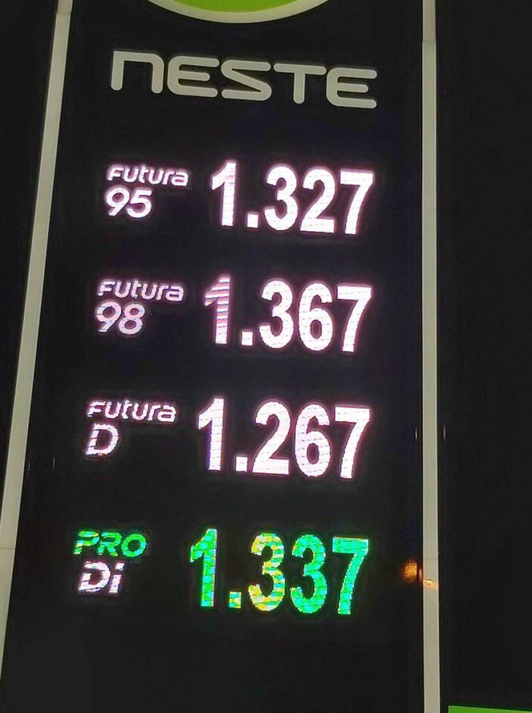 Цены на топливо 1 января 2020 года