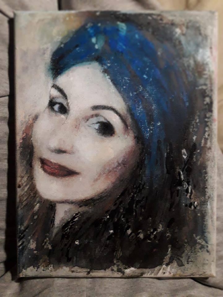 Портрет Лелде Кундзини. Автор: Виктория Лавренко