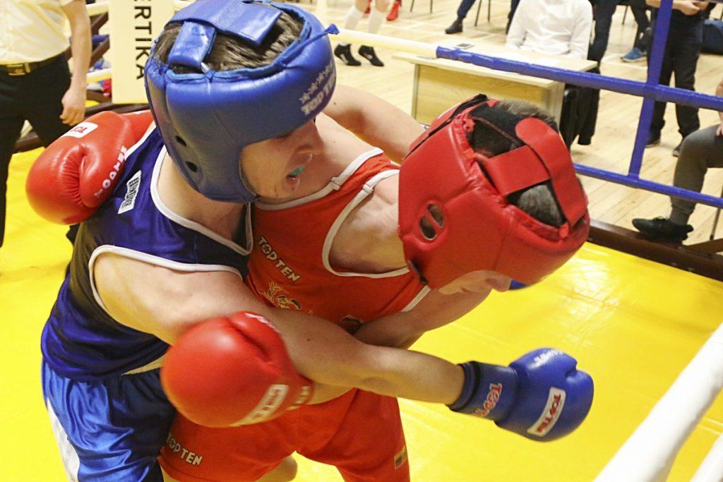 Первенство спортшколы по боксу. 24 - 25 января, Даугавпилс. Фото: Сергей Кузнецов