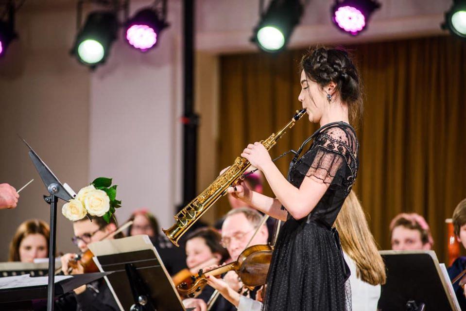 Студентка Латвийской Музыкальной академии им. Язепа Витола Марта Трофимовича. Фото из личного архива