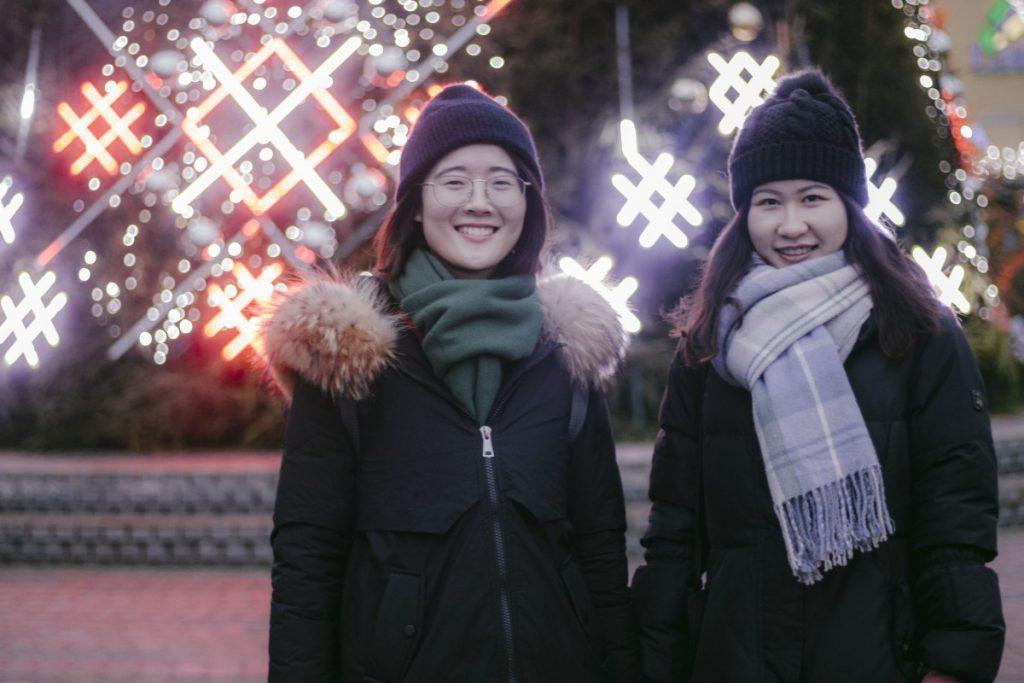 Ван Лу и Лю Цзинмин. Фото: Евгений Ратков
