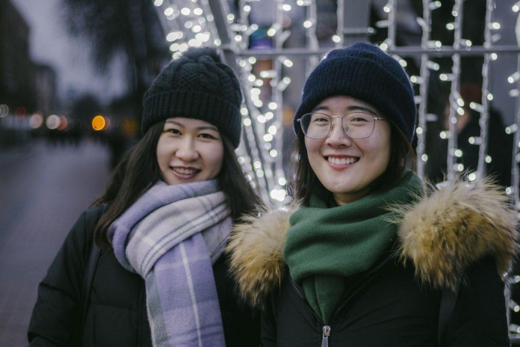 Лю Цзинмин и Ван Лу. Фото: Евгений Ратков