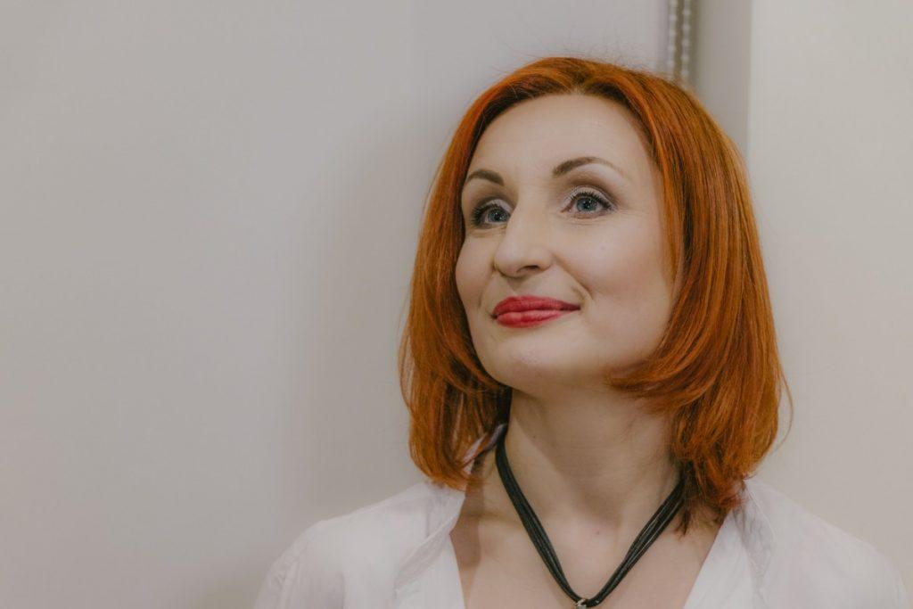 На выставке Лелде Кундзини. 9 января 2020 года, Центр польской культуры в Даугавпилсе. Фото: Евгений Ратков