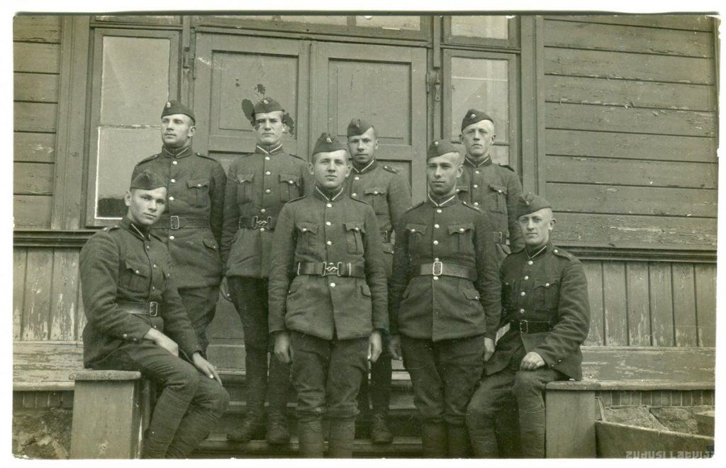 Солдаты 8-го пехотного полка Даугавпилса. 1930-ые годы. Фото: zudusilatvija.lv