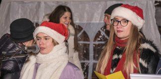 Новогодний праздник в посёлке Общества слепых. 29 января 2019 года, Даугавпилс. Фото: Михаил Рыжков