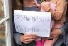 Флешмоб в соцсетях в поддержку Кристине Мисане. Фото: mixnews.lv