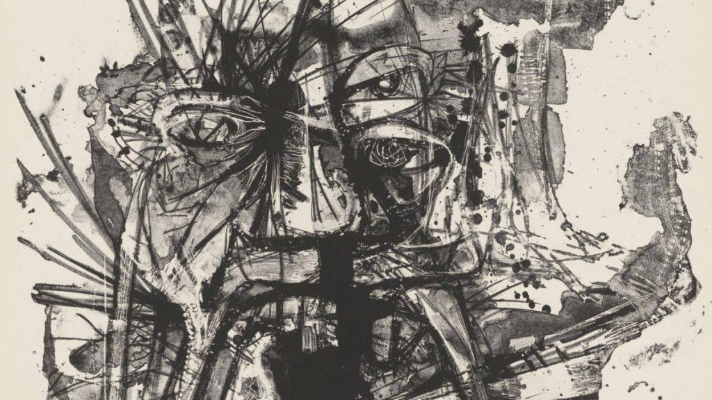 Ромас Весулас (Литва), Торо! Торо! (фрагмент), бумага, литография, 1960. Пресс-фото