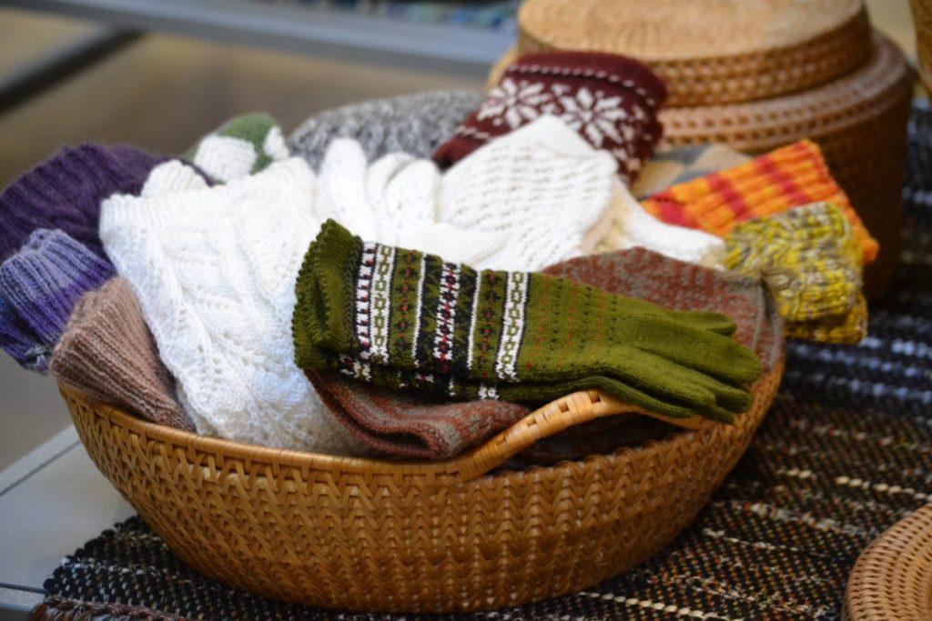Выставка «Керамика. Плетения. Текстиль». Даугавпилс, 21 февраля 2020. Фото: Елена Бородкина