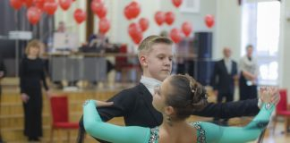 Конкурс бальных танцев «В кругу друзей». Даугавпилс, 15 февраля 2020 года. Фото: Евгений Ратков