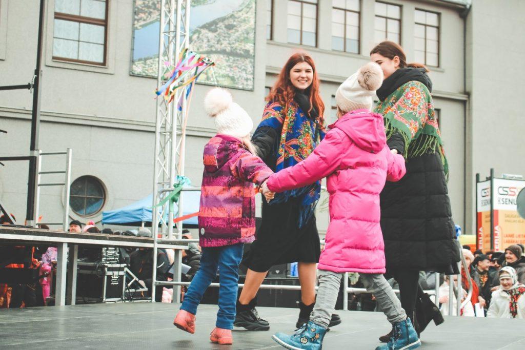Масленица в Даугавпилсе. 29 февраля 2020 года. Фото: Настя Гавриленко