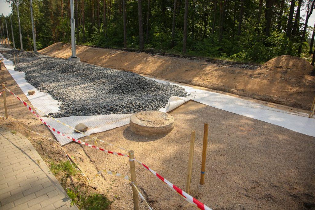 Строительство новой трамвайной линии в Даугавпилсе. 2 июня 2018 года. Фото: Сергей Кузнецов
