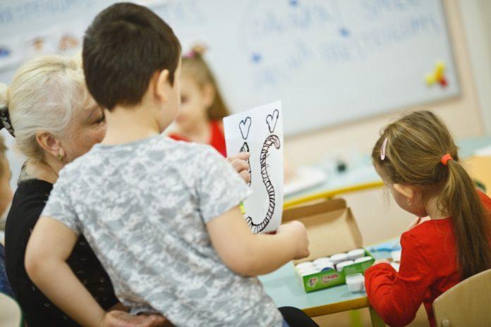 В Даугавпилсском детском саду № 17. Фото: Сергей Соколов