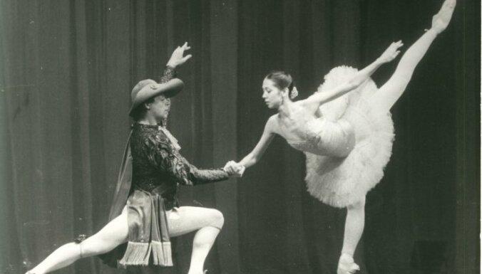 Лита Бейрис и Владимир Пономарёв. Фото из личного архива В. Пономарёва взято с Delfi.lv