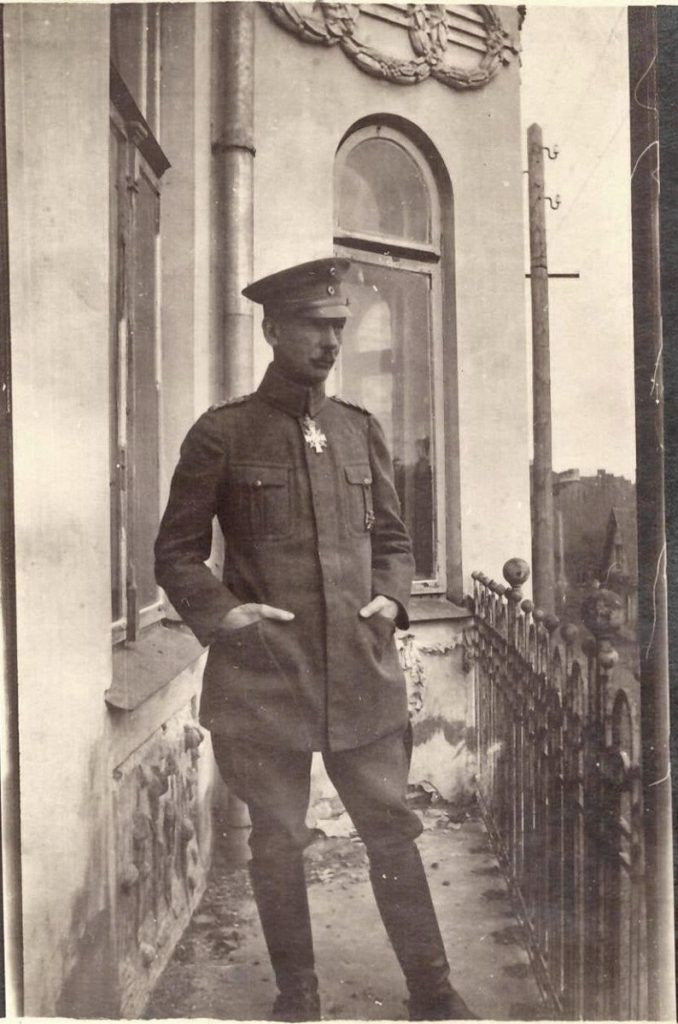 Фото подписано как General Heydemann mit Orden Dunaburg 1918. Фото: Ретро Даугавпилс - Латвия