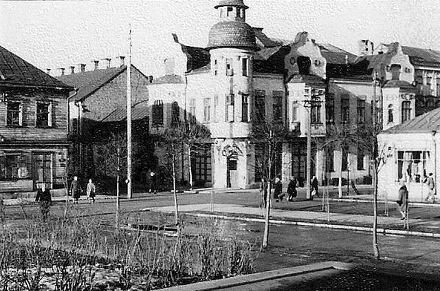 Даугавпилс, начало 1970-х. Фото: Ретро Даугавпилс - Латвия