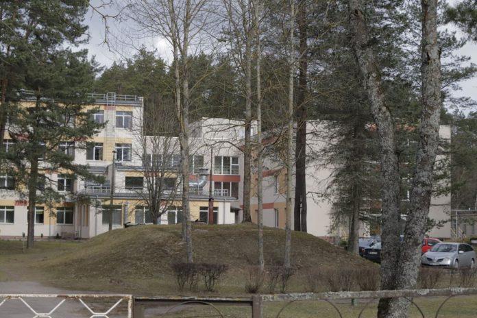 Инфекционное отделение Даугавпилсской региональной больницы. Фото: Евгений Ратков