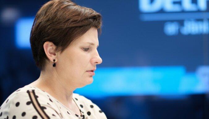 Министр здравоохранения Латвии Илзе Винькеле. Фото: DELFI